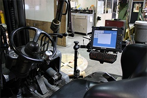 Using a Windows Tablet On A Forklift