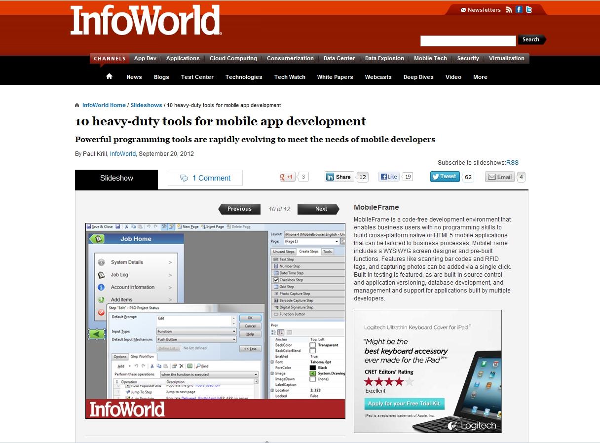 Key Benefits of a Enterprise Mobile App Development Environment 1