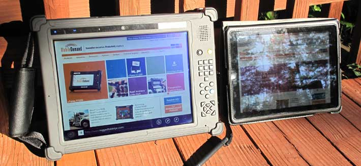 Rugged PC Review MobileDemand xTablet T1200 1