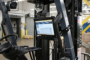 Using A Windows Tablet On A Forklift Mobileworxs