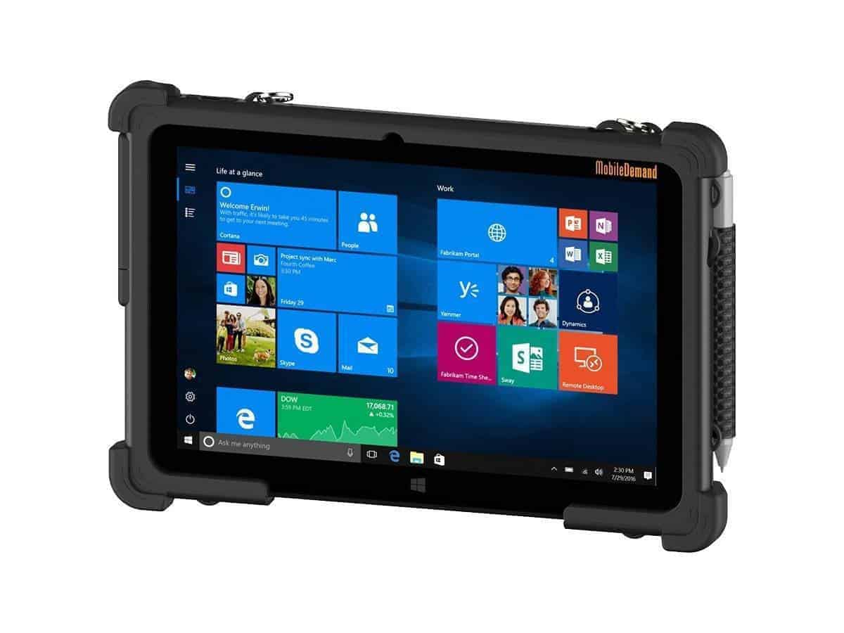 Quad Core Ultra Mobile Rugged Windows Tablet