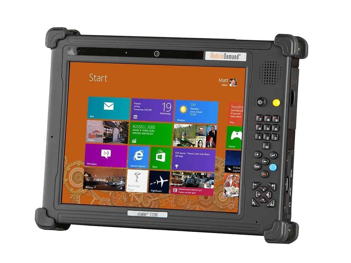 Rugged Tablet T1200 End of Life ...and introducing T1270 2