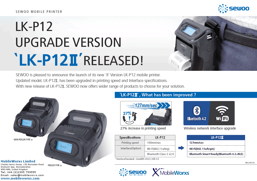 Sewoo Thermal Printers
