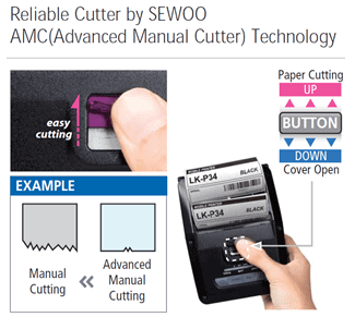 Mobile Receipt Printing Made Easy with Advanced Manual Cutter 1