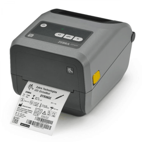 "Zebra ZD420 - 4"" Thermal Transfer Desktop Printer"