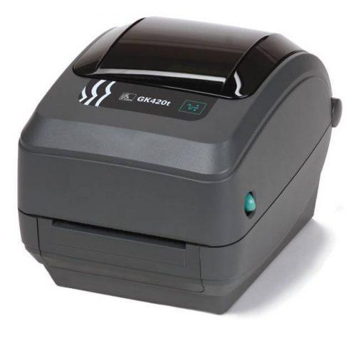 """Zebra GK420t - 4"""" Thermal Transfer Printer"""