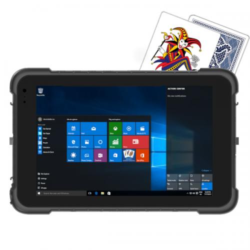 Joker Entry Level 8 Inch Windows 10 Pro Ip67 Rugged Tablet