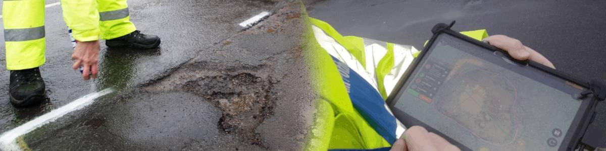 3D Pothole Measurement 1