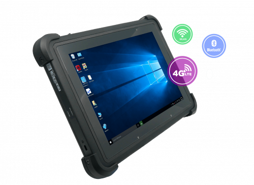 Unitech TB162 Windows 10 Rugged Tablet